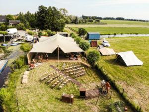 Betrouwbaar verhuur van tenten